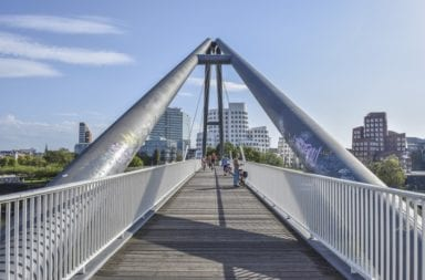 Brücke in Düsseldorf