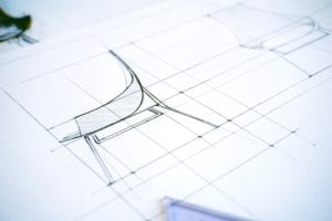 Symbolbild für den klassischen Designprozess.